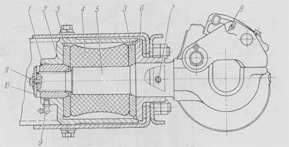 Схема буксирного прибора