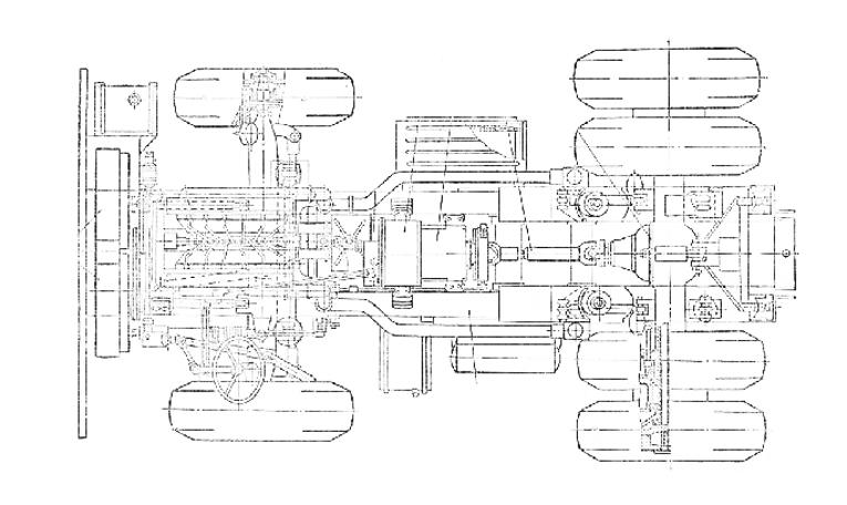 Белаз-75131-схема-трансмиссии