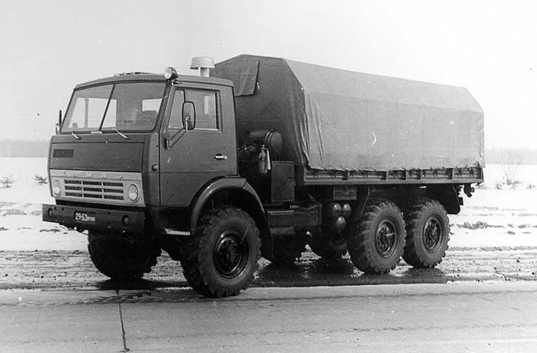 КАМАЗ 4310 - 1989 год