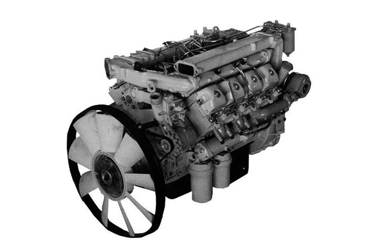 Первый двигатель КамАЗ 740