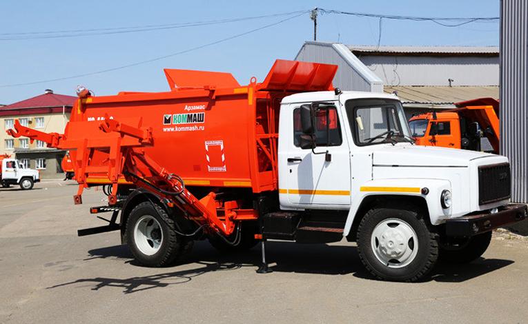 Мусоровоз КО-440-2 ГАЗ 3309