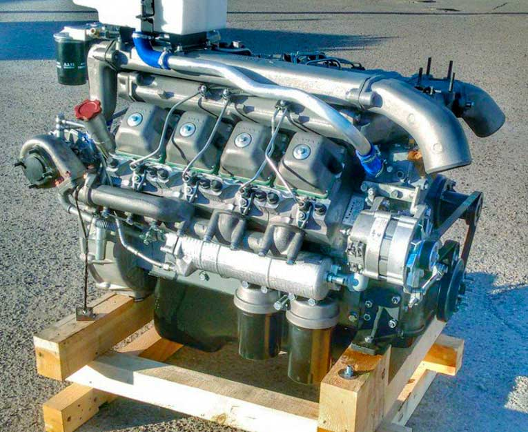 Двигатель КамАЗ 740.1 на грузовик КамАЗ 55102